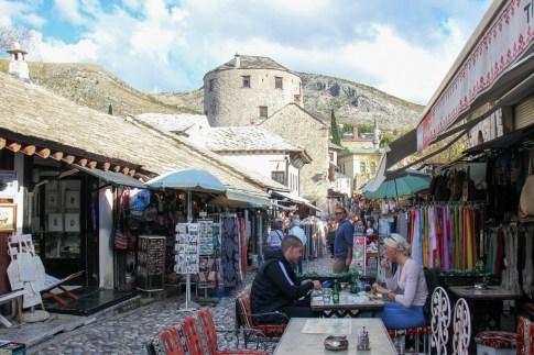 Tima Irma Restaurant in Old Town Mostar, Bosnia and Herzegovina