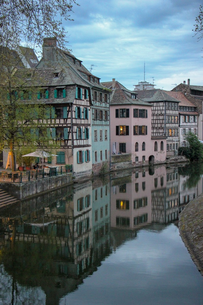Petite France River, Strasbourg, France