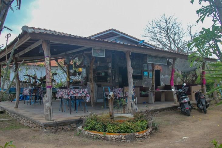Dungki Bendego Resto on Nusa Ceningan, Bali, Indonesia