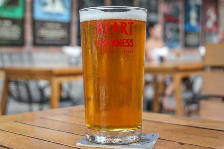 Cold Craft Beer, Heart Of Darkness Brewing, Ho Chi Minh City, Vietnam