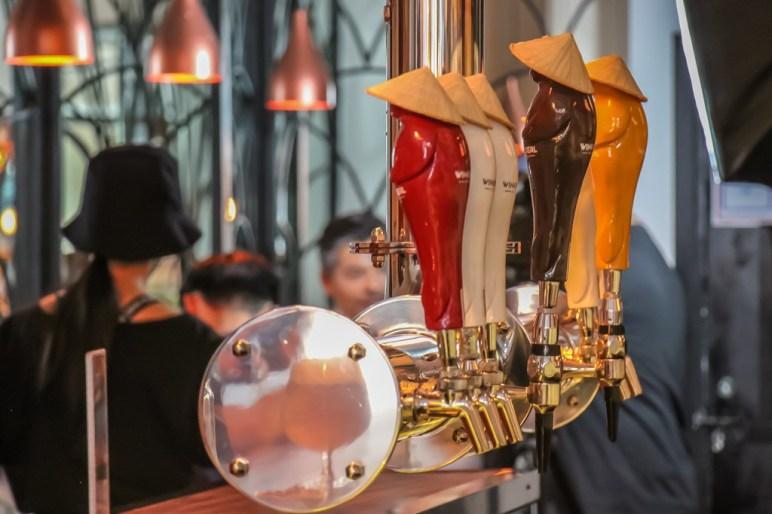Fun Beer Taps, Winking Seal Craft Beer, Saigon, HCMC, Vietnam