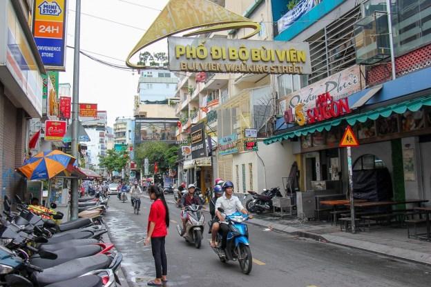 Always busy, Bui Vien Street Ho Chi Minh City, Vietnam