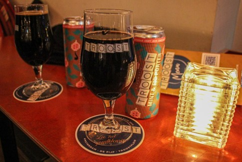 Mint Fig Stout, Brouwerij Troost Craft Brewery Amsterdam