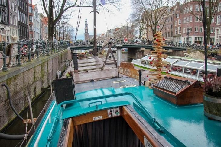 Houseboat Museum, Amsterdam, Netherlands