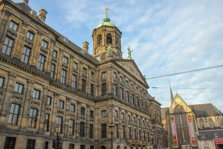 Can't miss the Royal Palace, Amsterdam, Netherlands