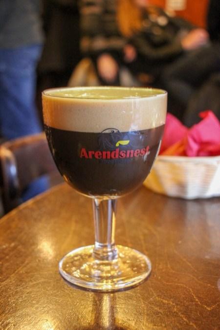 Winter Stout, Eagle's Nest Beer Bar, Amsterdam