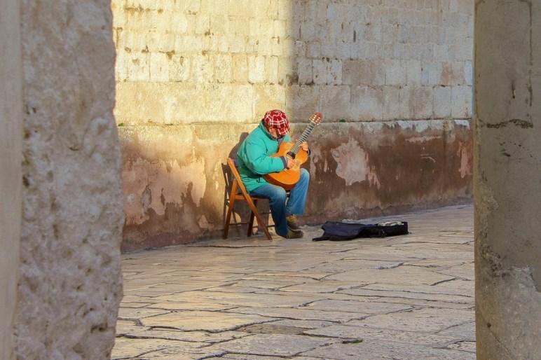 Street Artist, Split, Croatia