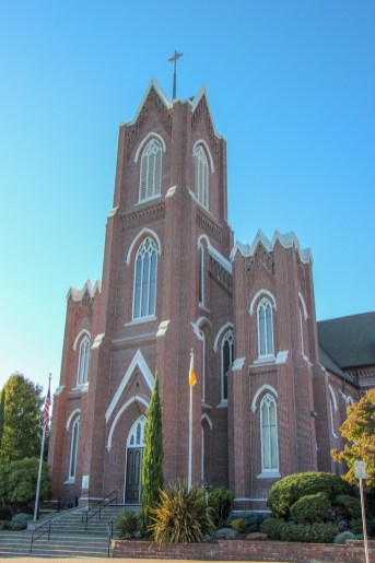 Red Brick, Proto-Cathedral of St. James the Greater, Vancouver, WA