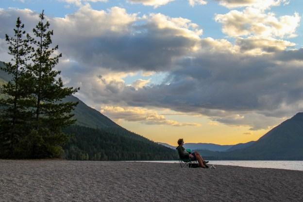 BYOB for Lake McDonald Sunset, Glacier National Park, Montana