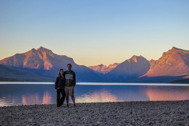 Lake McDonald Sunset at Glacier National Park, Montana