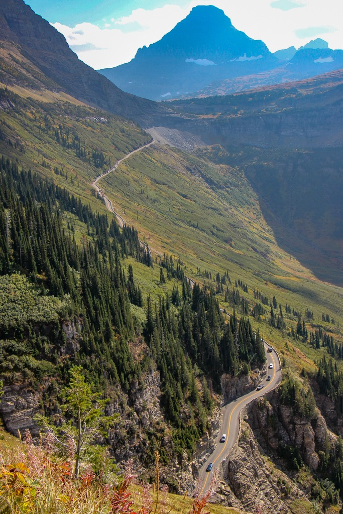 Best View of Going To Sun Road, Glacier National Park, Montana Road Trip