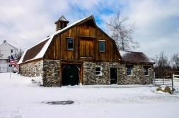 The Ski Lodge turned into a barn