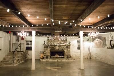 Inside the Stone Barn
