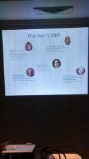 Women featured at JSM 2016