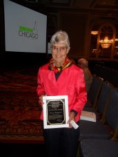 Alice Whittemore received the Fisher Lecture Award