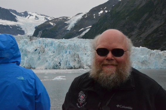 Me in front of the Glacier.