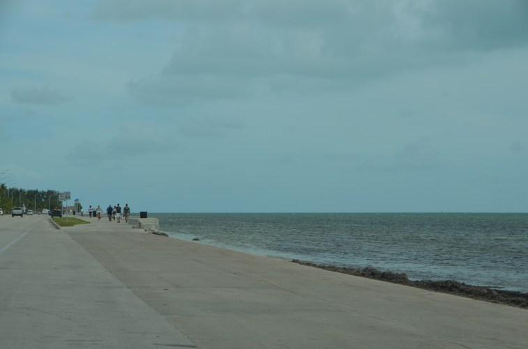 Beachfront at Key West.