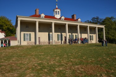 The porch (back of the main house)