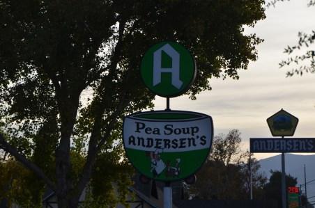 Pea Soup Andersen's Sign