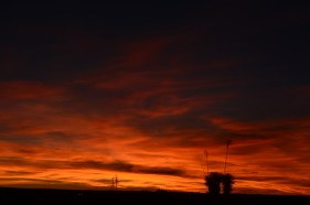 Now that's a New Mexico sunset.