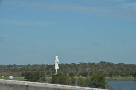 Stephen F. Austin Statue, at Visitor's Center.