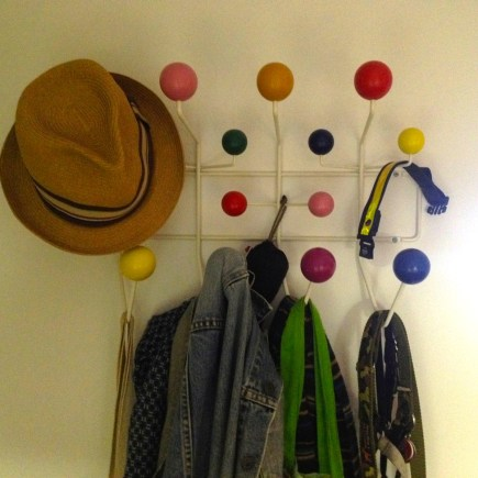 My Eames Hang-It-All.