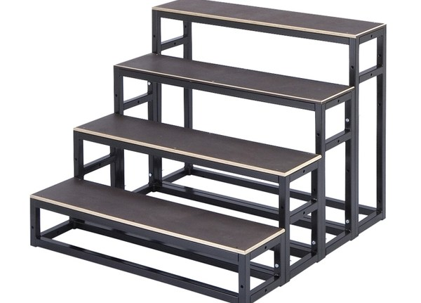 Stairs – Angstrom Lighting   3 Step Wooden Stairs   2 Step   Easy   Stringer   Tread   Outside