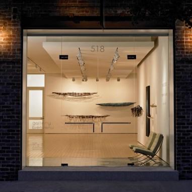 Gallery Bienvenu; Lee Ledbetter, renovation architect; Raine Bedsole, exhibiting artist