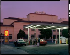 Gas Station on Van Ness Avenue, San Francisco, 1980