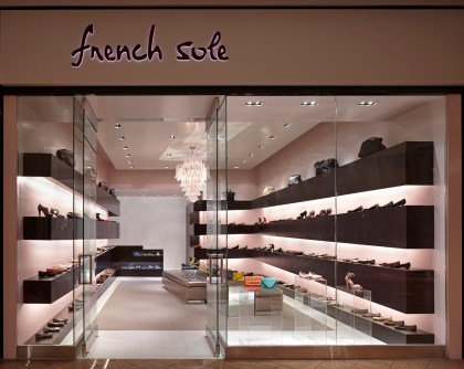 French Sole Retail Store; Lee Ledbetter, architect