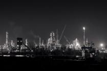 Norco, Louisiana, at Night, 2015