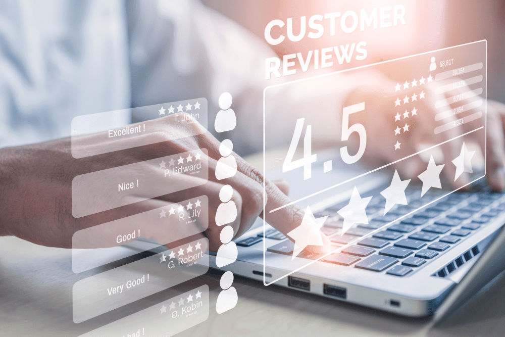 Happy Customer Ratings - Cloud Contact Center