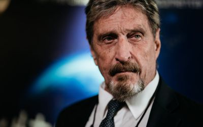 """Mysterious John McAfee Website Appears for Two Days after """"Suicide"""""""