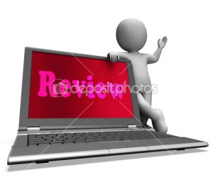 Review 2 depositphotos_32848921-Review-Laptop-Means-Check-Evaluation-Or-Reassess