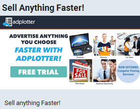 Adplotter Sell Anything Faster!