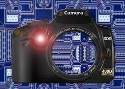 Digital camera to signify digital photos