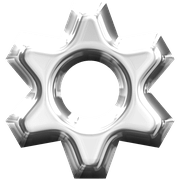 A gear to signify technical issues