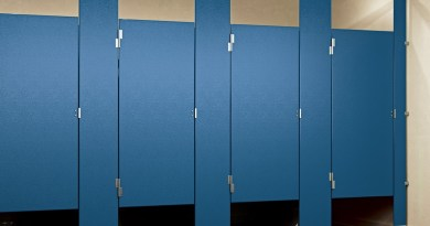 We Sell Those: Solid Plastic Partitions