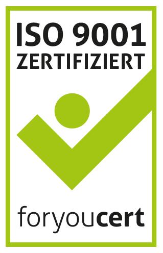 ISO 9001 - Zertifizierung