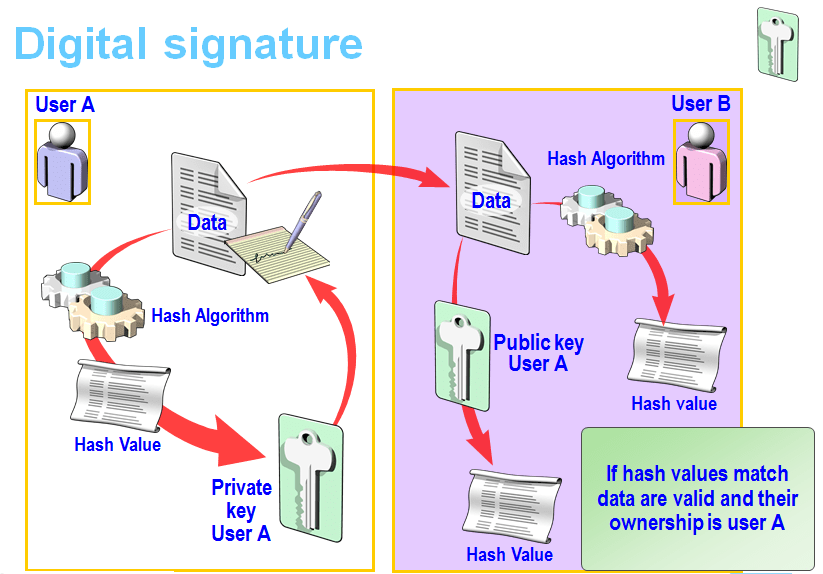 mcq digital signature While digital signatures have caught the fancy of many corporates and executives, what exactly is it simply put, a digital signature is your electronic fingerprint.