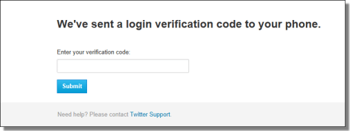 two-factor authentication Twitter Flaw