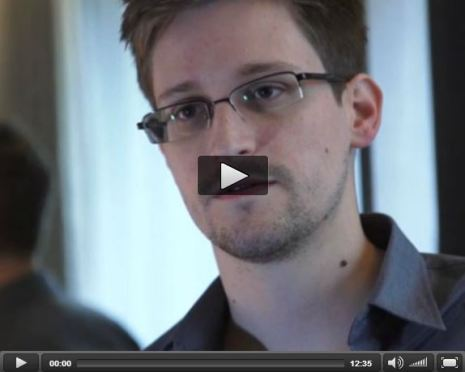 Edward Snowden Guardian Interview