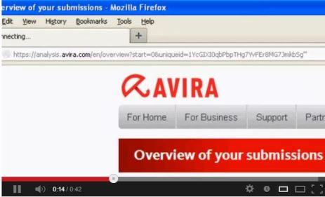 Avira.com SQL Injection