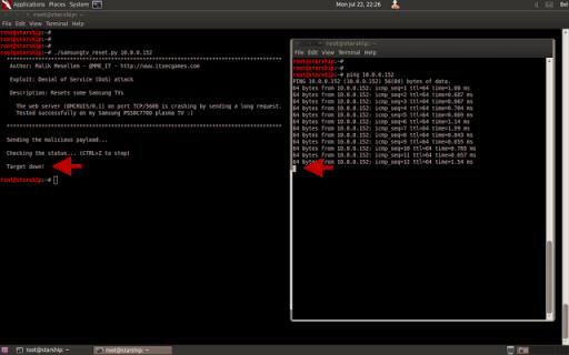 Samsung SmarTV hacking DDoS