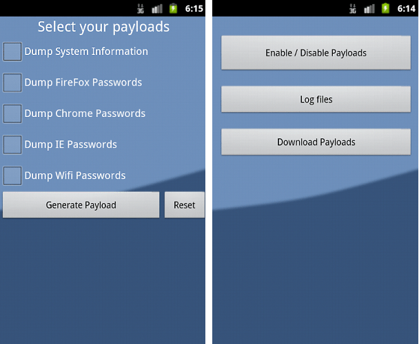 Android Hack-Tool discovered by F-Secure