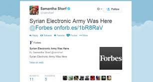 Forbes Twitter Hacked by SEA