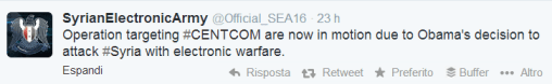 CENTCOM Syrian Electronic Army Twitter US Military 2