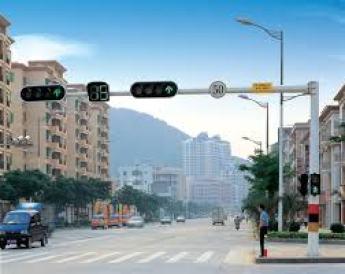 Traffic lights in smart city