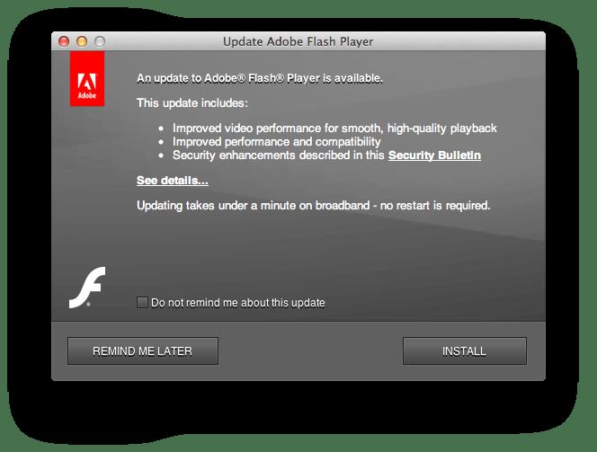 Adobe Flash Player Pdf