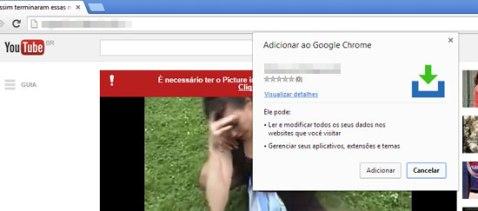 chrome extension YouTube